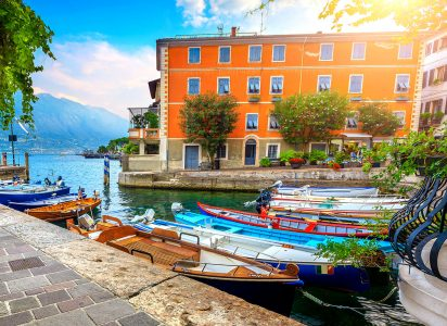 Lake Garda Harbor Jigsaw Puzzle
