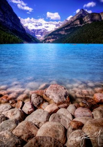 Lake Louise Shore Jigsaw Puzzle