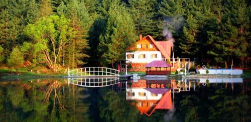 Lake Reflection Jigsaw Puzzle