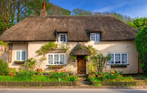 Large Cottage Jigsaw Puzzle