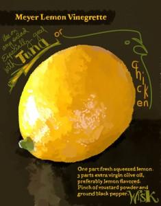 Lemon Vinaigrette Jigsaw Puzzle