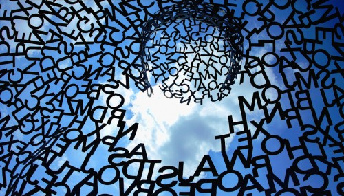 Letters in the Sky Jigsaw Puzzle