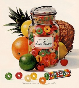 Life Savers Fruit Candy Jigsaw Puzzle