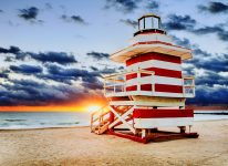 Lifeguard Tower Jigsaw Puzzle
