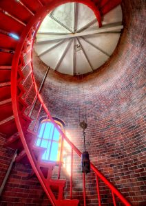 Lighthouse Staircase Jigsaw Puzzle