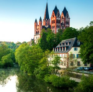 Limburg Cathedral Jigsaw Puzzle