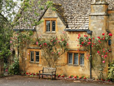 Limestone and Roses Jigsaw Puzzle