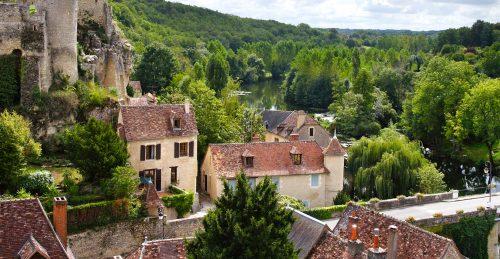 Limousin Village Jigsaw Puzzle