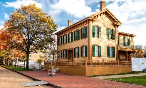 Lincoln's House Jigsaw Puzzle