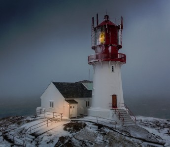 Lindesnes Lighthouse Jigsaw Puzzle