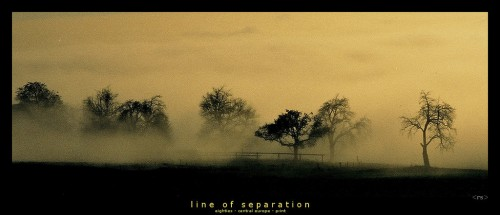Line of Separation Jigsaw Puzzle