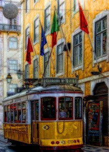 Lisbon Colors Jigsaw Puzzle