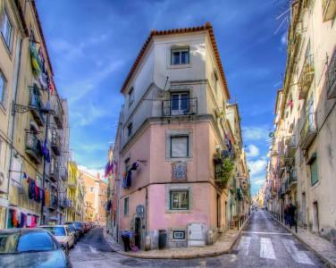 Lisbon Street Jigsaw Puzzle