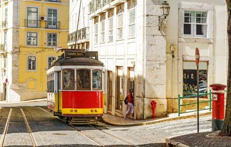Lisbon Streetcar Jigsaw Puzzle