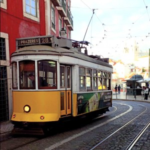 Lisbon Tram Jigsaw Puzzle