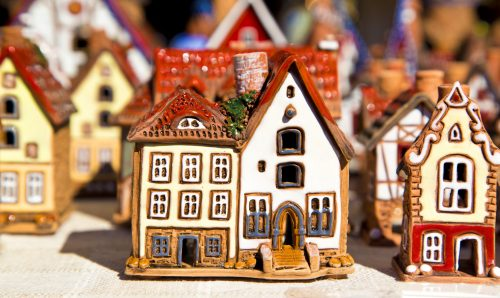 Little Houses Jigsaw Puzzle