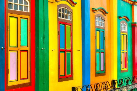 Little India Facades Jigsaw Puzzle