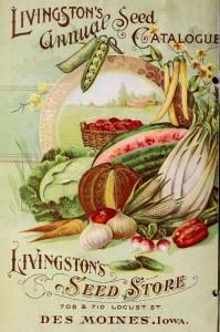 Livingston's Seed Catalog Jigsaw Puzzle