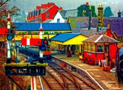 Llangollen Station Jigsaw Puzzle