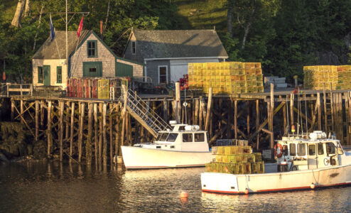 Lobster Boats Jigsaw Puzzle