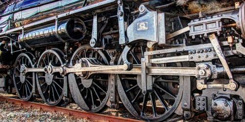 Locomotive Wheels Jigsaw Puzzle
