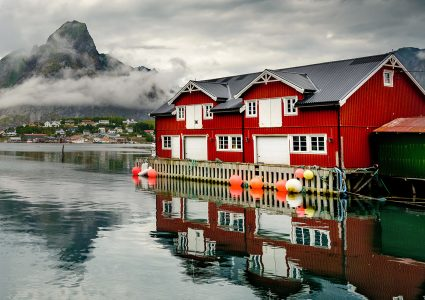 Lofoten Fishing House Jigsaw Puzzle