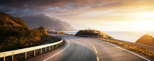 Lofoten Highway Jigsaw Puzzle