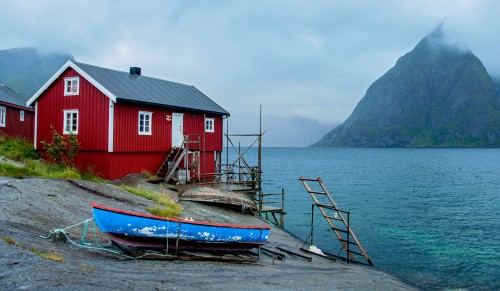 Lofoten Islands Jigsaw Puzzle