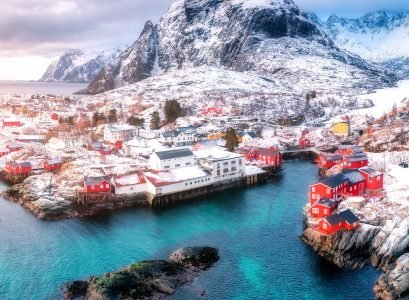Lofoten Winter Jigsaw Puzzle