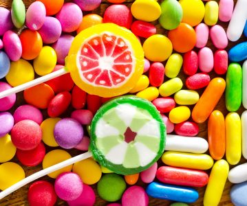 Lollipops and Candy Jigsaw Puzzle