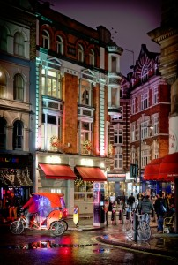 London Soho Jigsaw Puzzle