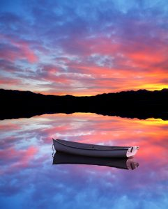 Lone Boat Jigsaw Puzzle