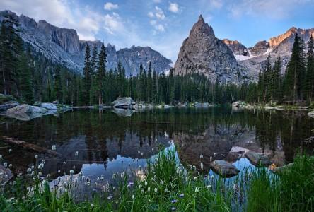 Lone Eagle Peak Jigsaw Puzzle