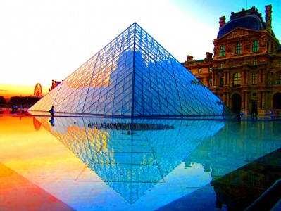 Louvre Pyramid Jigsaw Puzzle