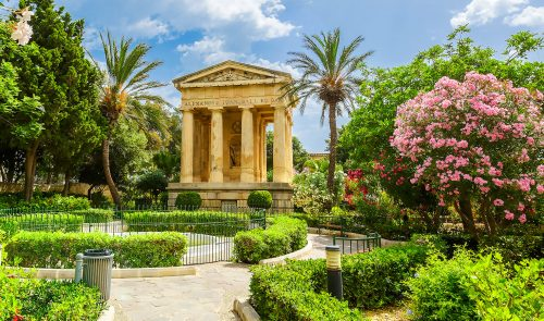 Lower Barrakka Garden Jigsaw Puzzle