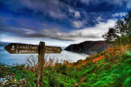 Lynmouth Bay Jigsaw Puzzle