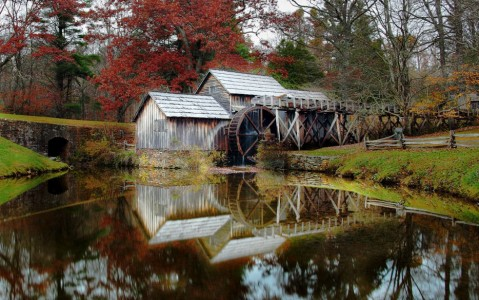 Mabry's Mill Jigsaw Puzzle