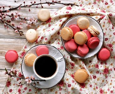 Macarons and Coffee Jigsaw Puzzle