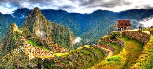 Machu Picchu Pano Jigsaw Puzzle