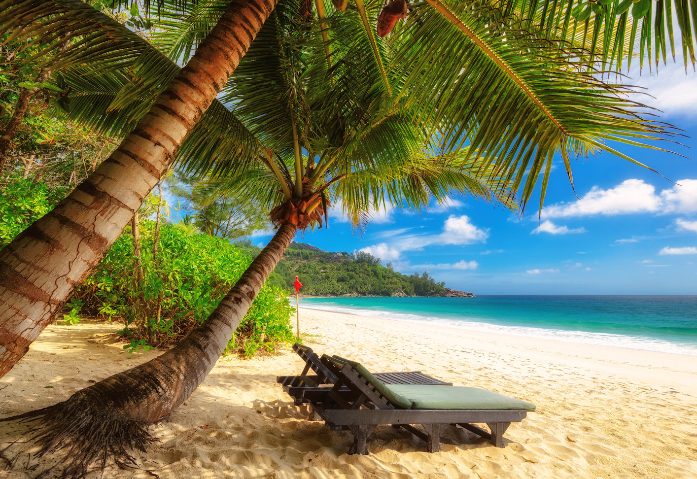Anse Takamaka Beach, Mahe Island, Seychelles бесплатно