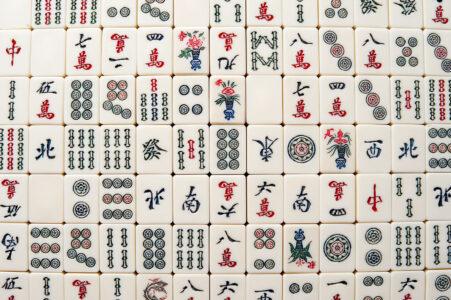 Mahjong Tiles Jigsaw Puzzle