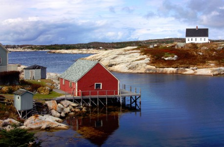 Maine Cove Jigsaw Puzzle