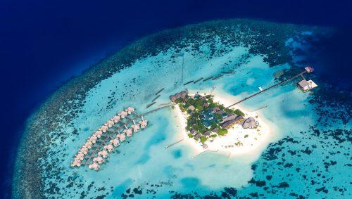 Maldives Atoll Jigsaw Puzzle