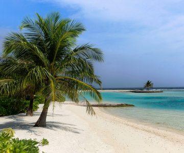 Maldives Resort Beach Jigsaw Puzzle
