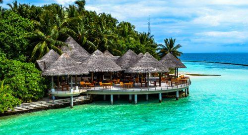 Maldives Villa Jigsaw Puzzle