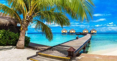 Maldives Villas Jigsaw Puzzle