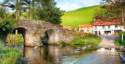 Malmsmead Bridge Jigsaw Puzzle