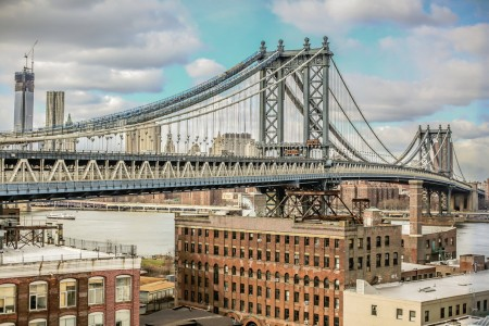 Manhattan Bridge Jigsaw Puzzle