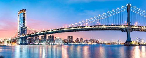 Manhattan Bridge Pano Jigsaw Puzzle