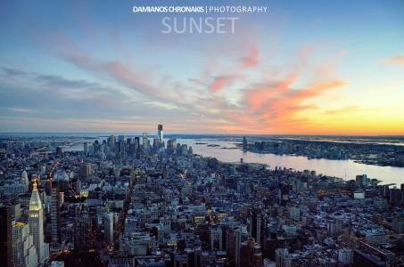 Manhattan Sunset Jigsaw Puzzle